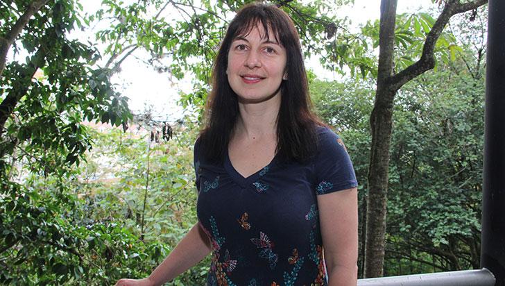 Lindsay Stringer visitó el Quindío para hablar sobre sostenibilidad y cambio climático