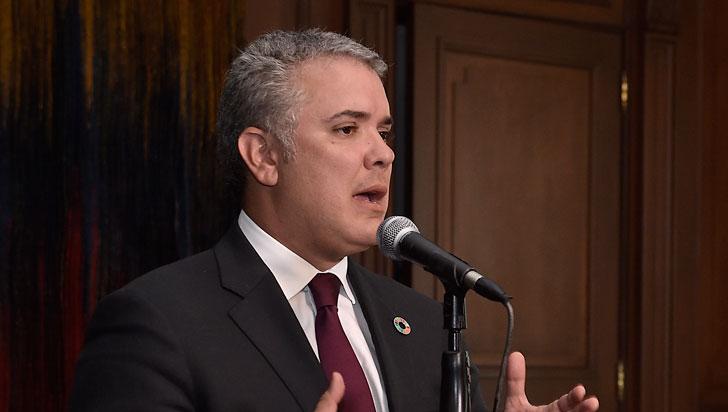 """Duque ganó el Premio Oswaldo Payá por su """"activismo por libertad de Venezuela"""""""