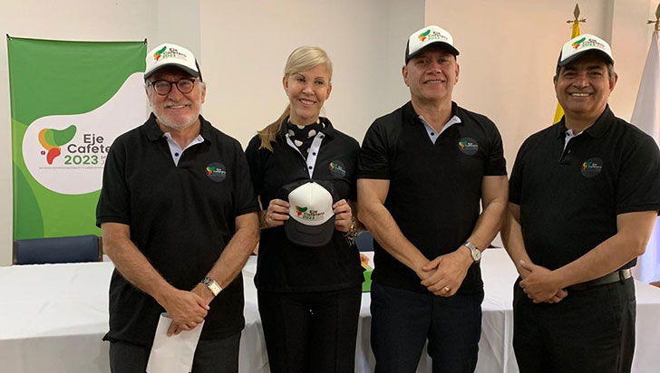 Eje Cafetero radicó interés por ser sede de los Juegos Deportivos Nacionales 2023