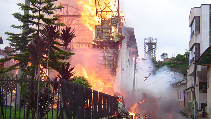 Hace 10 años ardió el patrimonio más valioso de Circasia