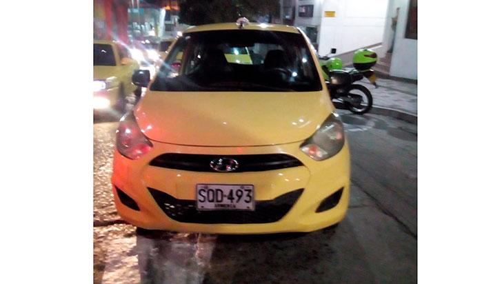 Policía está tras la pista de sujetos que agredieron a taxista en Armenia