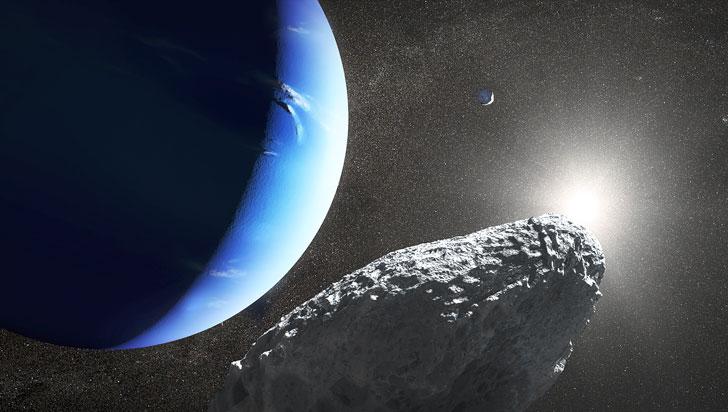 Neptuno suma una nueva luna, la pequeña y recién descubierta Hipocampo