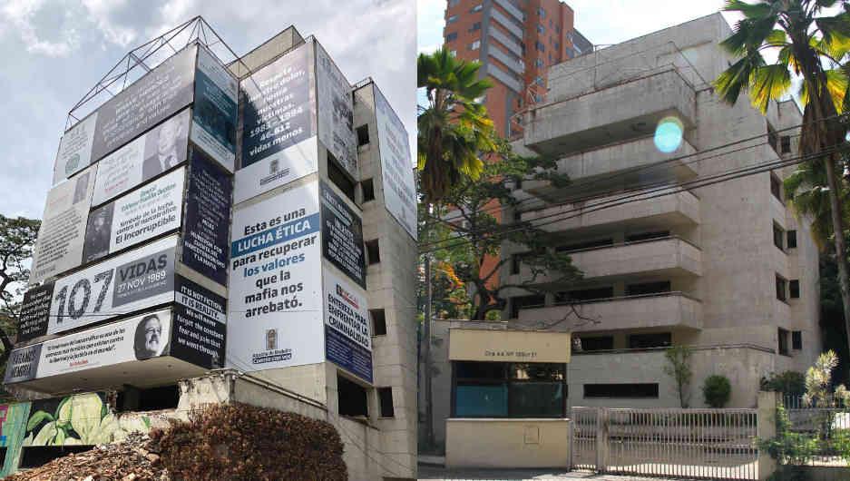 Tres segundos bastaron para derrumbar el edificio Mónaco de Pablo Escobar