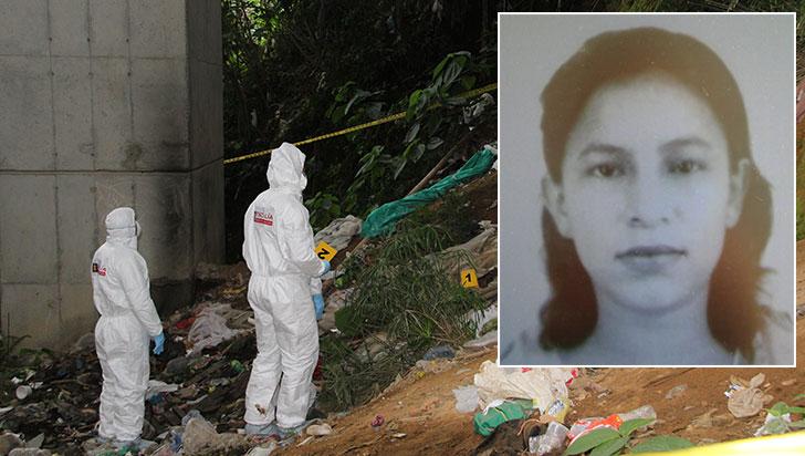 Gloria Elena Marín, la mujer hallada muerta bajo un puente