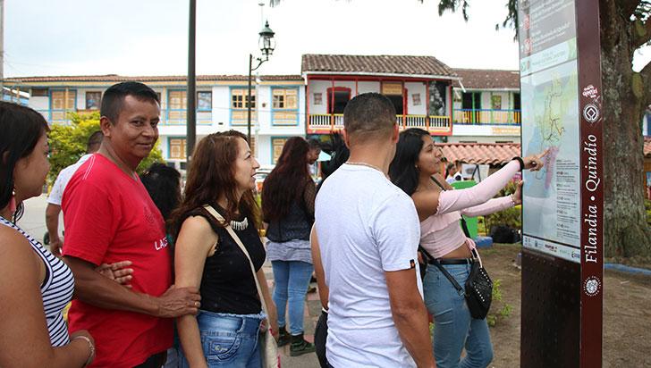 6,1% ha aumentado flujo de turistas extranjeros en Quindío en los últimos tres años