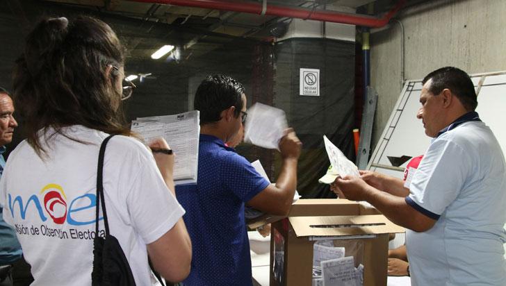 Mininterior y MOE firmaron pacto para promover transparencia en elecciones locales