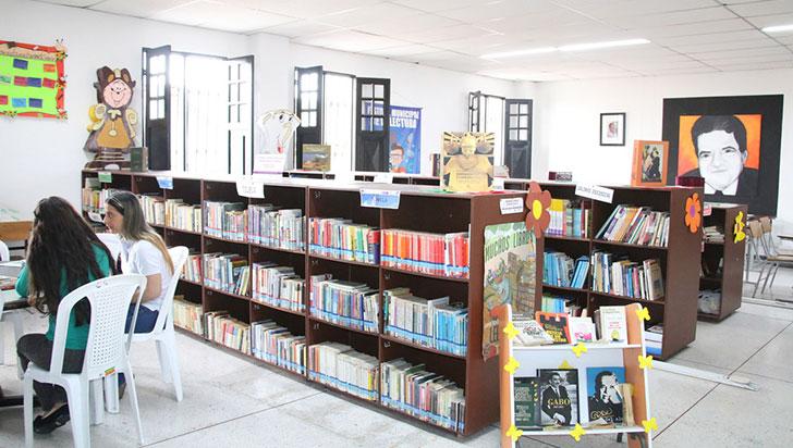 Seis bibliotecas del departamento en programa itinerante de Mincultura