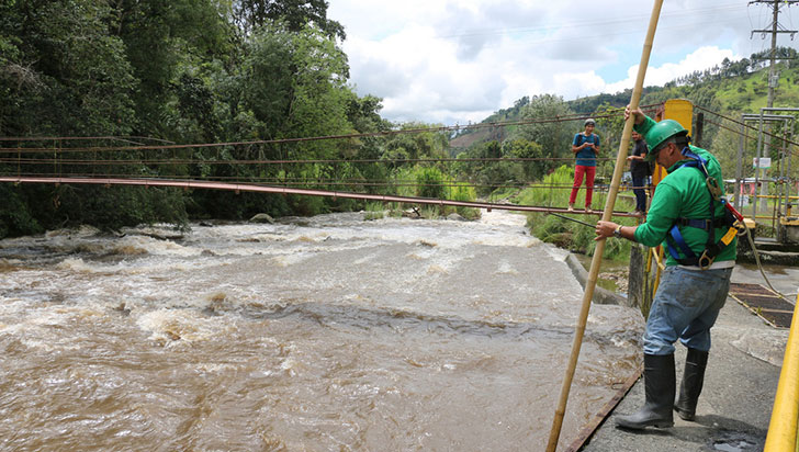 Situación de agua en Boquía,  preocupante por posible contaminación