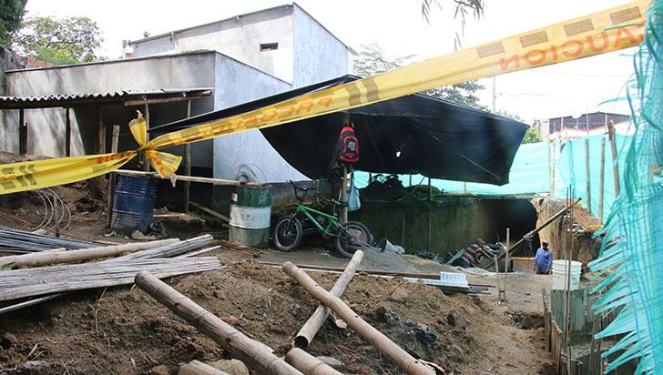 Queja por construcción en Rincón del Bosque en Calarcá