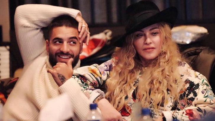 """Maluma adelanta que colaboración con Madonna """"es algo bonito, algo especial"""""""