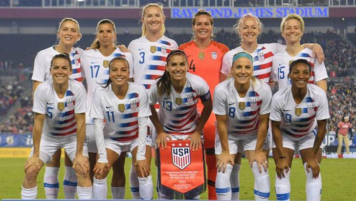 Selección femenina de EE.UU. demanda a su Federación por discriminación