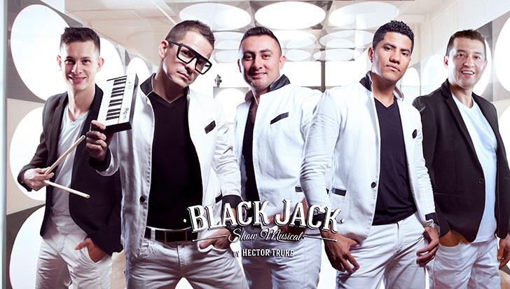 Black Jack, el show musical quindiano  actuará en Estados Unidos