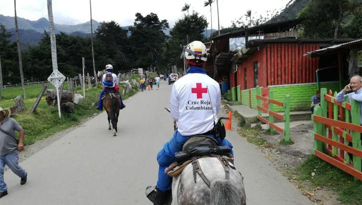 Rescatan a una mujer extranjera en el parque Los Nevados