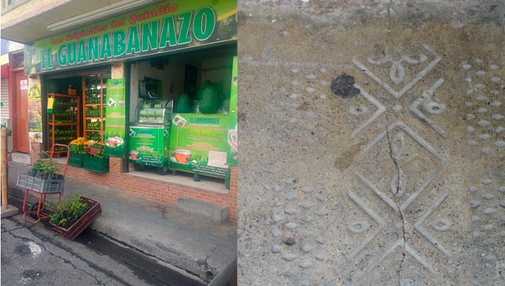Guanabanón y estrella de andén, dos historias de marcas culturales escondidas en una calle de Armenia