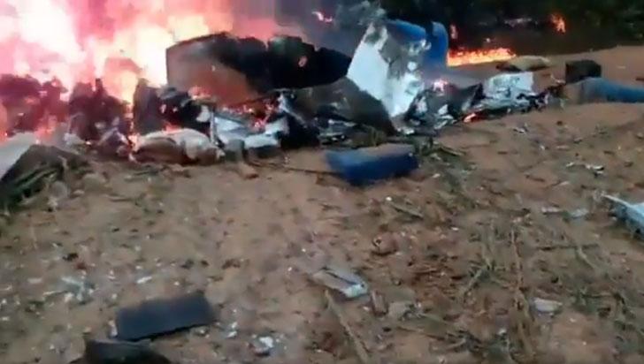Accidente aéreo en el Meta deja al menos 12 muertos, entre ellos la alcaldesa de Taraira