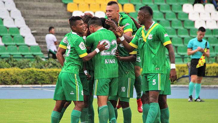 Deportes Quindío empató 1-1 en San Andrés