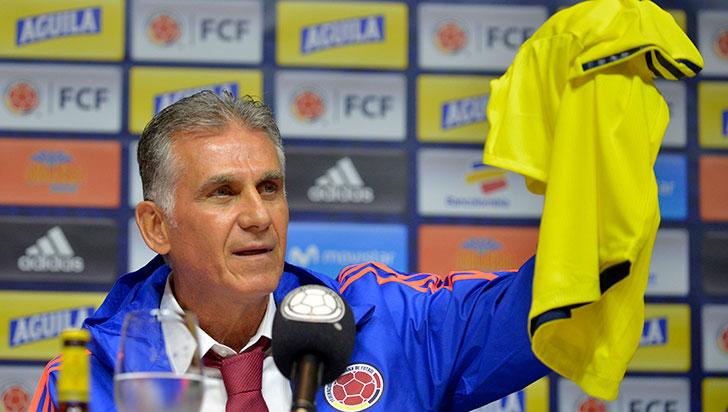 Carlos Queiroz entregará este lunes lista de convocados de Colombia