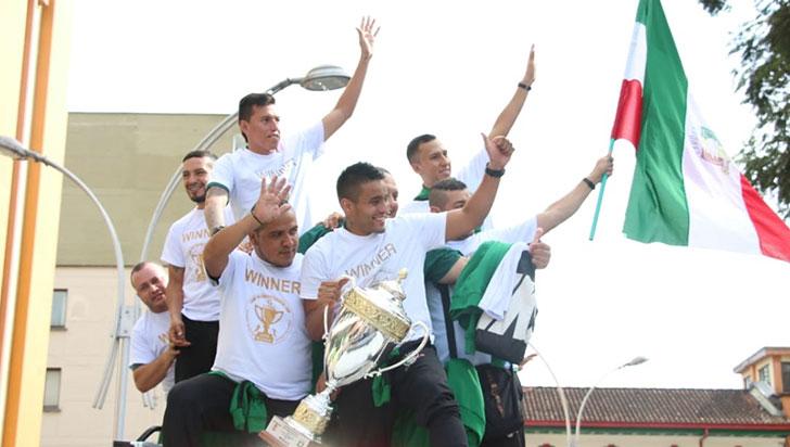 Calarcá rindió homenaje a Caciques del Quindío, campeón intercontinental