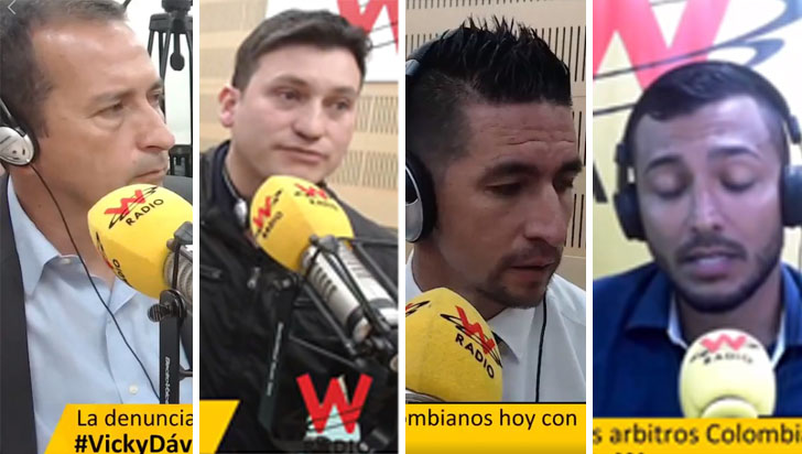 Árbitros denuncian a Óscar Julián Ruiz e Ímer Machado por acoso sexual
