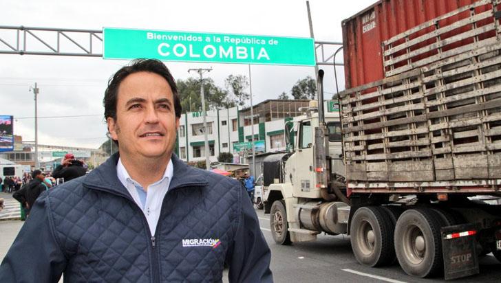 Ciudadanos vinculados con Maduro no pudieron ingresar a Colombia