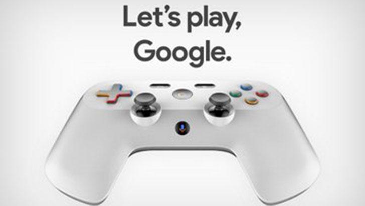 """Google: así luciría el control de su nuevo """"Netflix para videojuegos"""""""