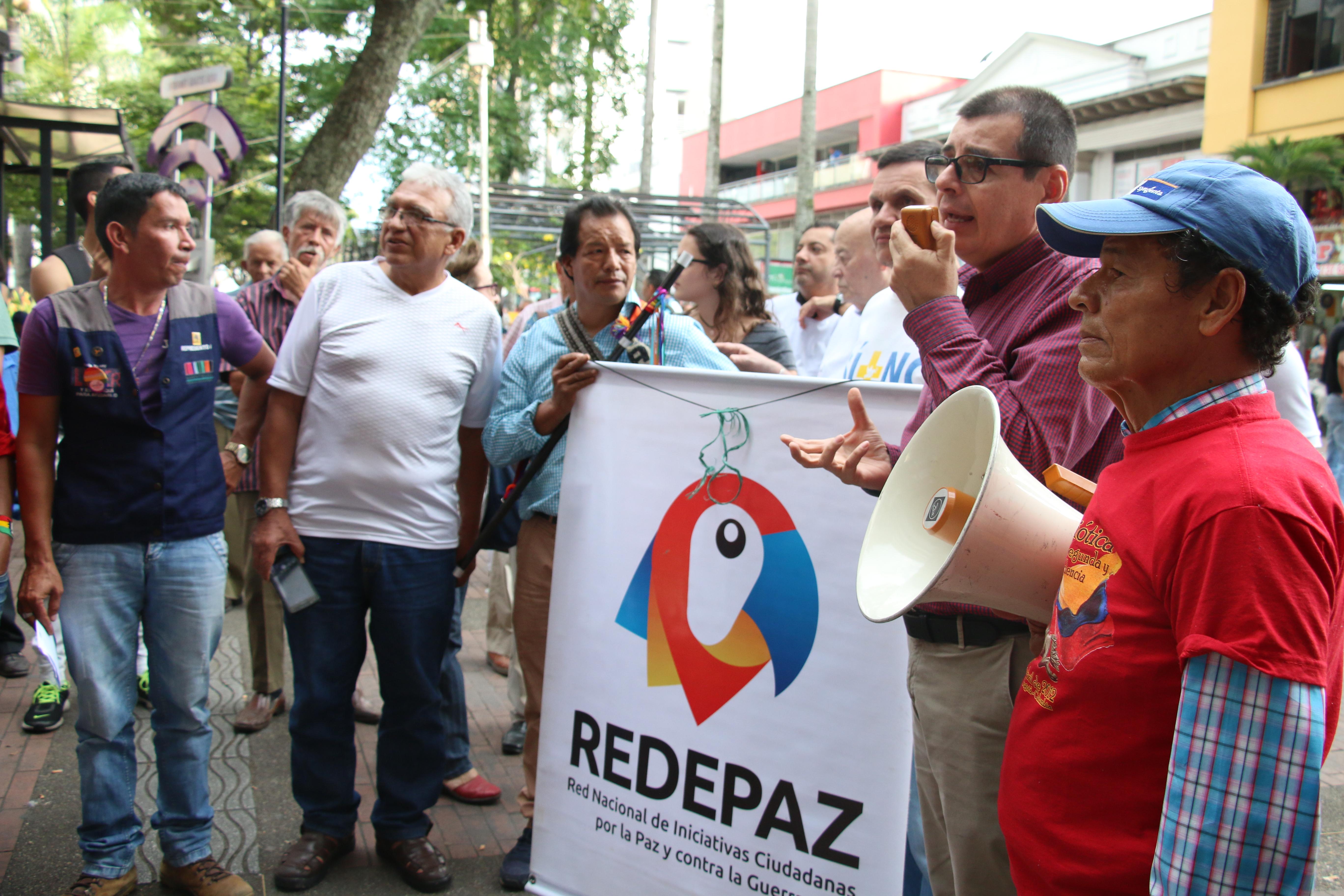 Líderes del Quindío se unieron por la defensa de la JEP
