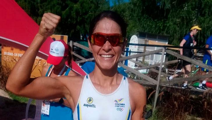 """""""En natación se sacó provecho para llegar al podio"""": Lina Raga"""