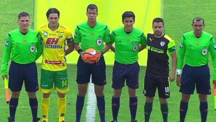 """""""Nunca me acosaron en el  arbitraje"""": Alexánder Ospina"""