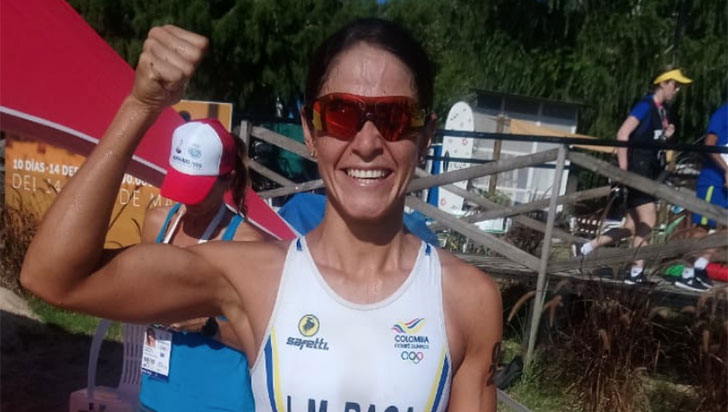 Lina María Raga logró la plata en Juegos Suramericanos de Playa