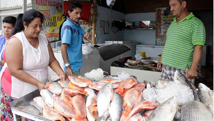 En Semana Santa, regulación en comercialización del pescado