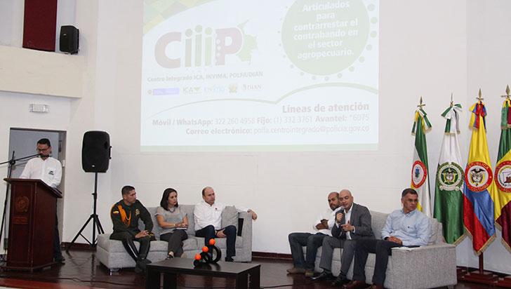 Ciiip, 4 instituciones nacionales  unidas contra el contrabando