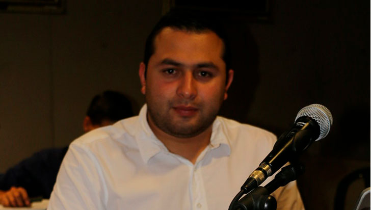 Hugo Andrés Aristizábal solo lleva un año en el concejo de Armenia