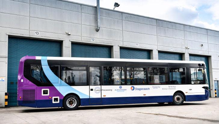 Video: Reino Unido prueba el primer bus de tamaño completo que se conduce solo