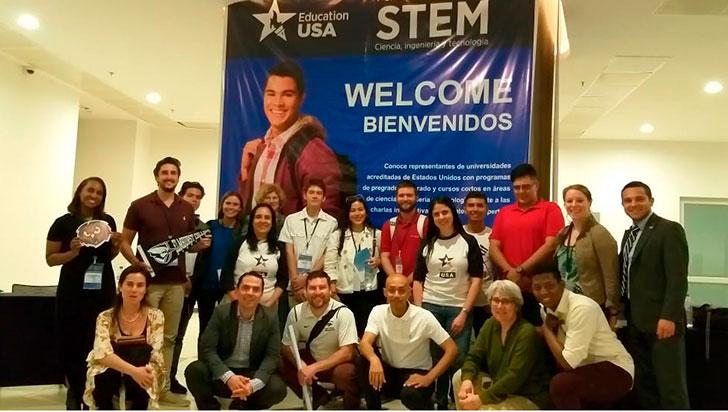 Más de 300 asistentes tuvo la feria EducationUSA Stem 2019