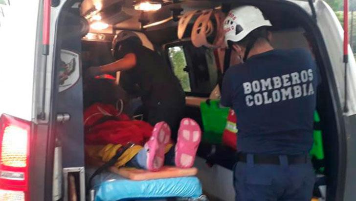 Accidente en La Tebaida dejó una mujer lesionada