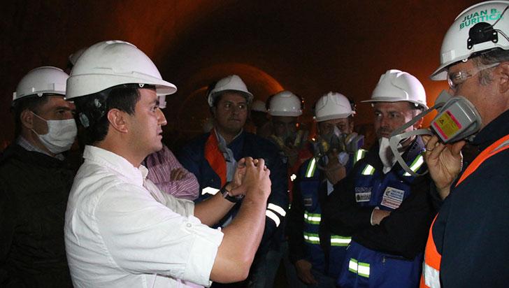 Adjudicado primer contrato para obras en el túnel de La Línea