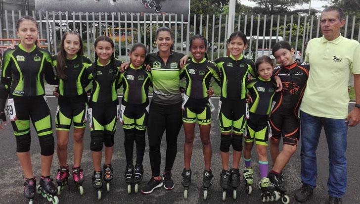 Kayros logró oros en el Campeonato Nacional de Patinaje de Menores 2019