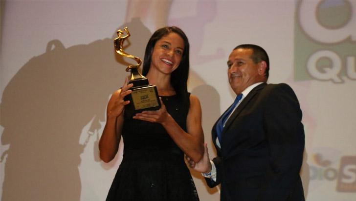 La triatlonista Lina María Raga es el Acord de Oro 2018