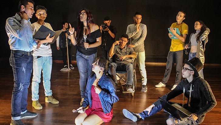 Lágrimas de Dios, nueva puesta en escena del grupo de teatro Hilos Invisibles