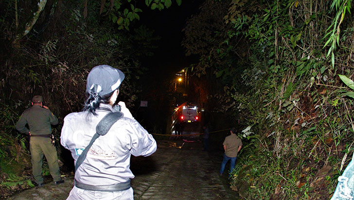 Envuelto en bolsas, encontraron cadáver de una persona en Salento