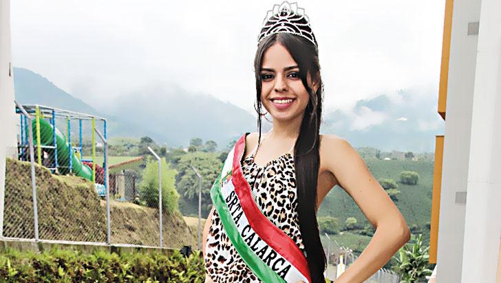Luz Ángela Montaño, reina del PCC de Calarcá