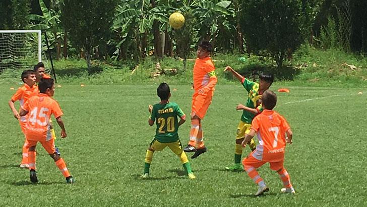 Piguas y Camino al Fútbol, en  segunda fase de la copa Boy Toys