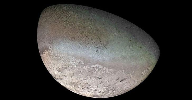 Nasa quiere enviar una misión a Tritón, la luna de Neptuno