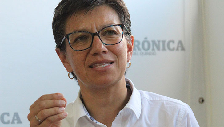 Claudia López venció en encuesta y es candidata de Alianza Verde para alcaldía de Bogotá