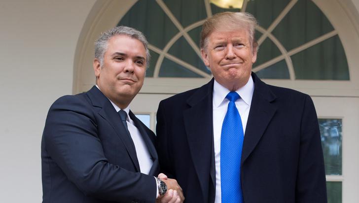 Trump criticó a Duque y acusó a Colombia de enviar criminales a EE.UU.