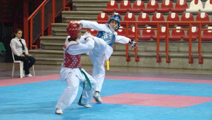 Este viernes, tres regiones en acción en fogueo de taekwondo