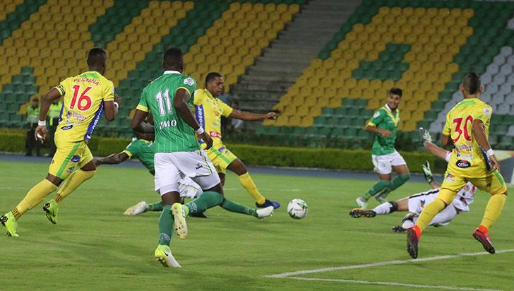 Quindío perdió 1-0 con Huila y quedó prácticamente eliminado de la Copa Águila