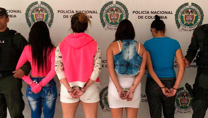 Caen cuatro mujeres que extorsionaban a los prisioneros