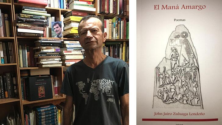 El maná amargo, un libro de poesía que recrea los textos sagrados
