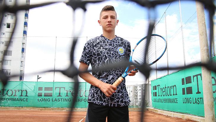 Camilo Cano, la promesa del tenis quindiano